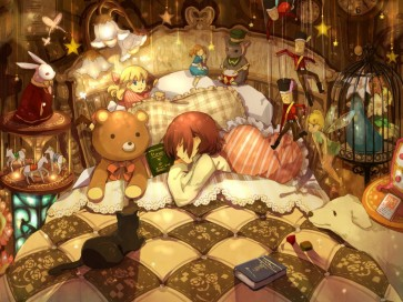 Image result for  anime sleep
