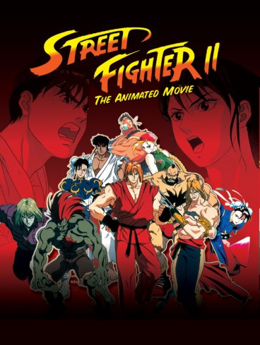 Image result for Street Fighter 2 Animated Movie