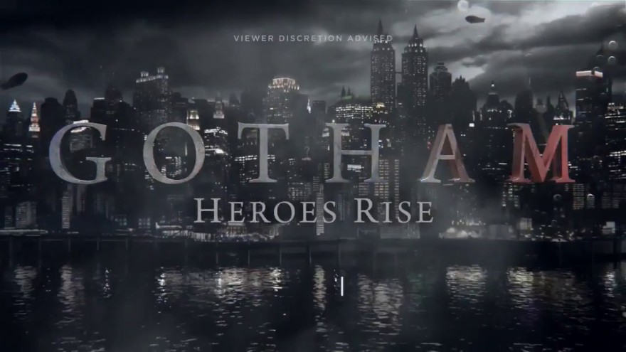 Image result for gotham heroes rise poster